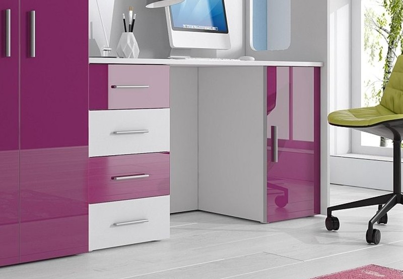 kinderhochbett sam 4 80x200 hochbettkombination mit schrank und schreibtisch kinderzimmer. Black Bedroom Furniture Sets. Home Design Ideas